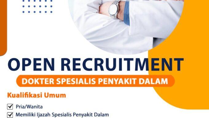 Recruitment RS St Vincentius Singkawang